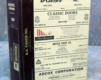 Memphis (Suburban Edition), Tennessee, TN 1988 Polk City Directory