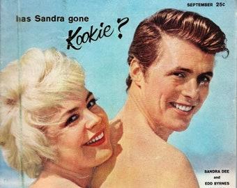Photoplay Magazine September 1959 Sandra Dee and Edd Byrnes