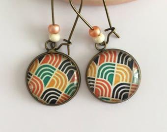 """""""Rétro"""" earrings"""