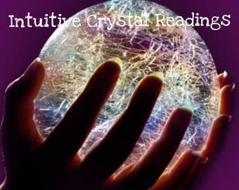 Intuitive Crystal Reading + Custom Crystals chosen specifically for YOU! /Psychic Reading / Crystal Reading / Crystal Healing