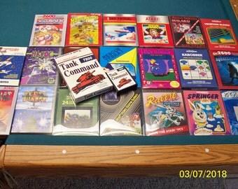 Atari 7800 Tank Command w/ box!!