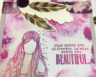 Boho Chic Card Collection