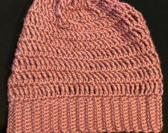 Slouchy Beanie (crochet)