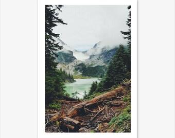 Mountain Print, Scandinavian Print, Nature Photography, Landscape Print, Nordic Poster, Nature Wall Art, Scandi Home Decor, Nordic Design