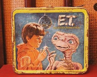 Vintage E.T Lunch box