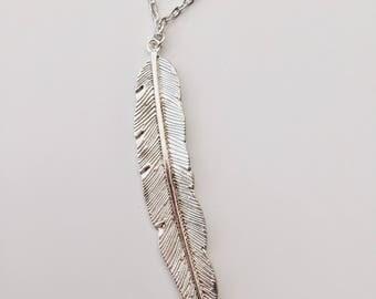 Elegant Feather Pendant