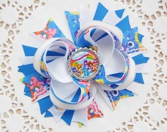 Care Bears Hair Bow Care Bears Hair Clip Care Bears Headband Care Bears Birthday Care Bears Outfit Care Bears Party Disney Hair Bow Bow Clip