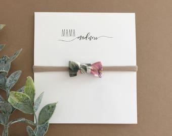 "The ""Ava"" Newborn Bow"