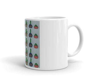 Potted Cactus Mug (Made in the USA)
