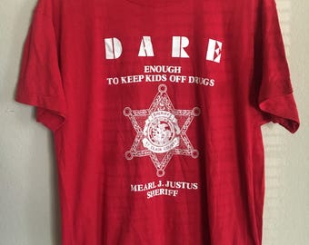 Vintage Red Dare Shirt