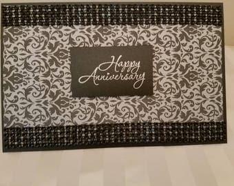 Happy Anniversary, Unique Greeting Cards, Handmade Cards, ReynoldsGrahamDesign, Anniversary Cards