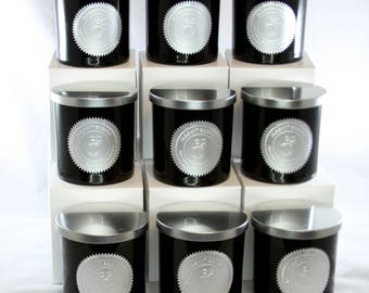 Candle for men: masculine candle, handmade soy candle, scented candle, men fragrance, candle for him, husband, boy Friend.
