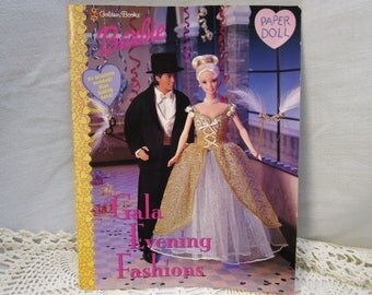 Vintage Barbie And Ken Paper Dolls Book Vintage Barbie Paper Doll Vintage Ken Paper Doll Barbie And Ken Gala Evening Fashions Paper Dolls