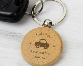 Personalised Keyring,New Car,Just passed driving test,Wooden Gift,Keyring,Him,Her,Christmas,Birthday,