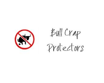 Bull Crap Protectors: Gag Gift; White Elephant; Novelty Gifts