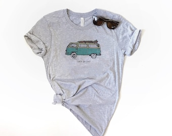 Lets Get Lost Unisex Fit Tee - Adventure Shirt - Nature Tee - Outdoor T-shirt - Soft Tee