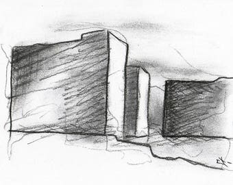Sketch arhitecture Italy