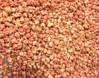 Gourmet Wedding Cake Frosting Popcorn in Pink Pink Popcorn