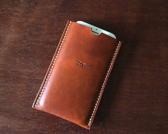 iPhone 6 Sleeve - Leather Phone Case - Smartphone Leather Case