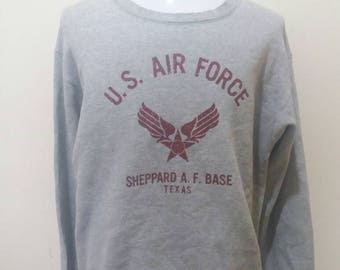 Rare alpha industries us air force vintage sweatshirts