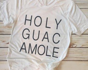 Holy Guacamole Crew Neck Tee