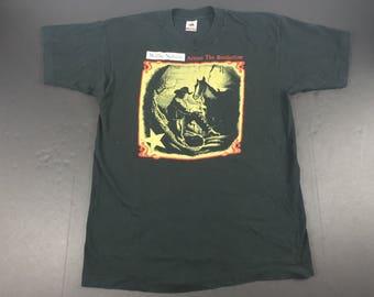Vintage 1993 Willie Nelson across the borderline t-shirt mens L