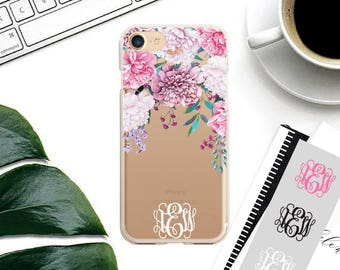 iPhone 7 Plus Case Personalized iPhone 7 Case, Custom Name iPhone 6 Case, 6 Plus, 5s, 5, SE iPhone Case, Personalised Gift.