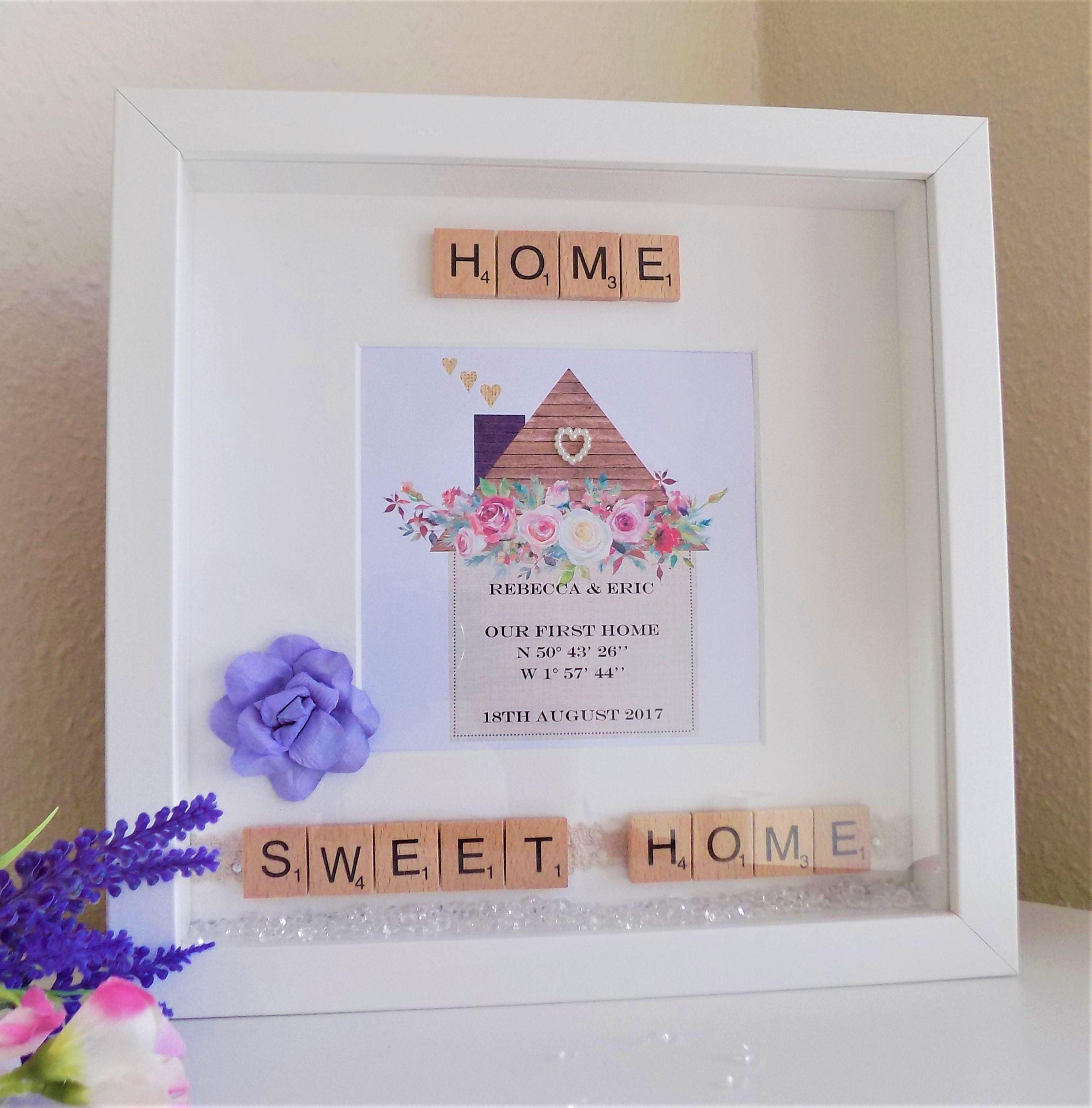 Personalised Housewarming Gift New Home First Home Moving