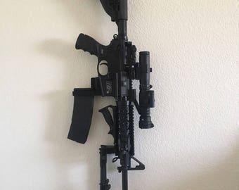 AR15 wall mount, storage mount