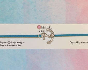 Blue Anchor Choker
