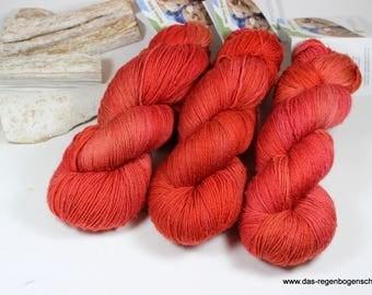 Merino baby 100g, 440 m ll, hand dyed