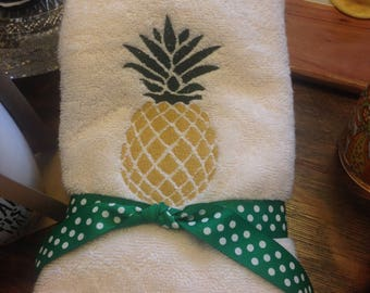 Pineapple Hand Towel Set (2)