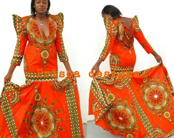 Celebrity designs, Custom designs, dinner dress, prom dess, African wedding gowns