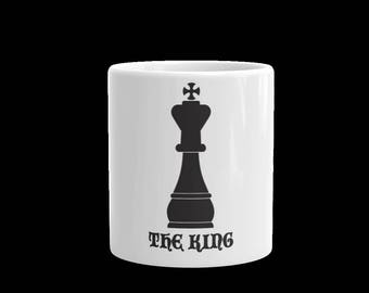 the King coffee Mug -King cup-tea cup-coffee cup-gift mug cup-king white coffee cup mug-king cup