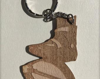 I love Kangoo Jumps - Kangoo Boot Keychain