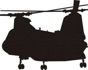 CH46 Port Decal