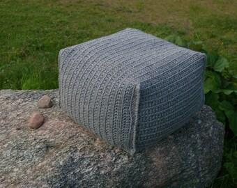 Decorative wool pillow