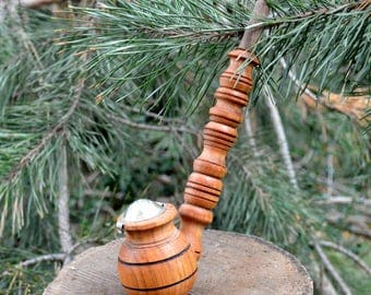 Wood smoking pipe tobacco pipe wood pipe smoking bowl unique pipe hobbit pipe gandalf churchwarden sherlock wizard cute cool pipe