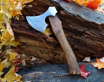 Viking Hatchet; Polished (Etching available)