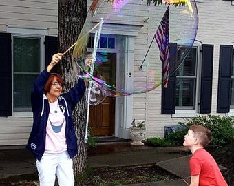 Ginormous Bubble Wand - Adult Sized Tri String