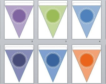 Printable Pennant Assortment