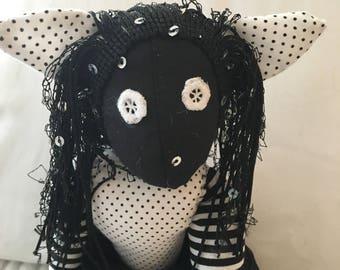Art dolls,cloth dolls,cloth cat doll