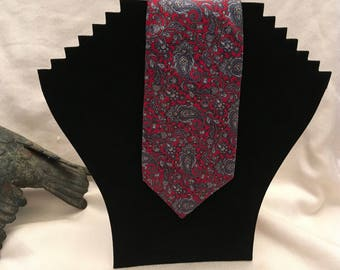 Christian Dior Paisley Necktie