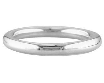 Sterling Silver Halo Wedding Band | 3.00mm | Sizes K-T / Size 5.5-9.75 |  Heavy Weight | Wall Thickness 3.01mm | UK 925 Hallmarked | SIEFF