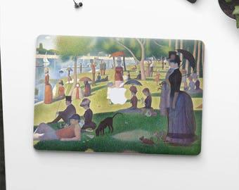 """Georges Seurat, """"Sunday at La Grande Jatte"""". Macbook Pro 15 skin, Macbook Pro 13 skin, Macbook 12 skin. Macbook Pro skin. Macbook Air skin."""