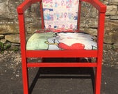 Betty Boop chair  tub chair  1930s betty boop  American style furniture  kitsch chair  retro