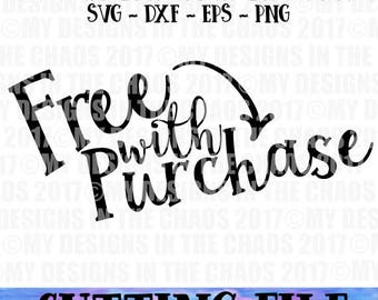 Craft Fair Small Business SVG File / Free with Purchase Small Shop SVG/ Cutting File for Silhouette or Cricut / Craft Show Display SVG