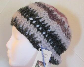 Hand Crocheted Hat  100% Acrylic