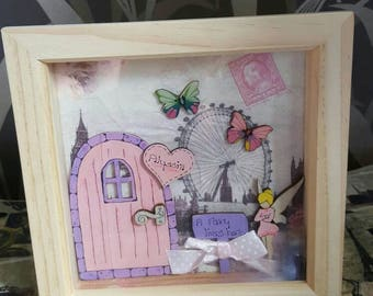 Fairy Door Box Frame - Household - Gifts for Family - personalised