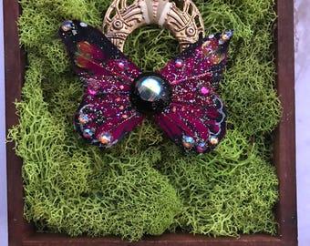 Boho Butterfly Pendant Necklace